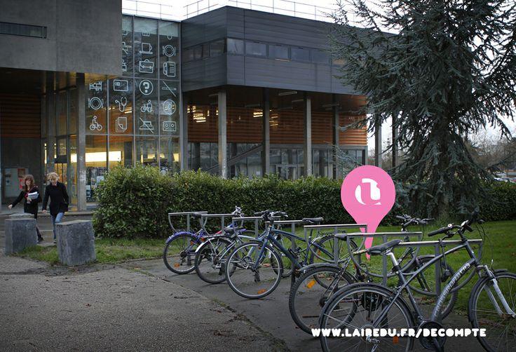 L'érève, à l'Université Rennes 2