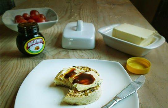 marmite on toast scone breakfast