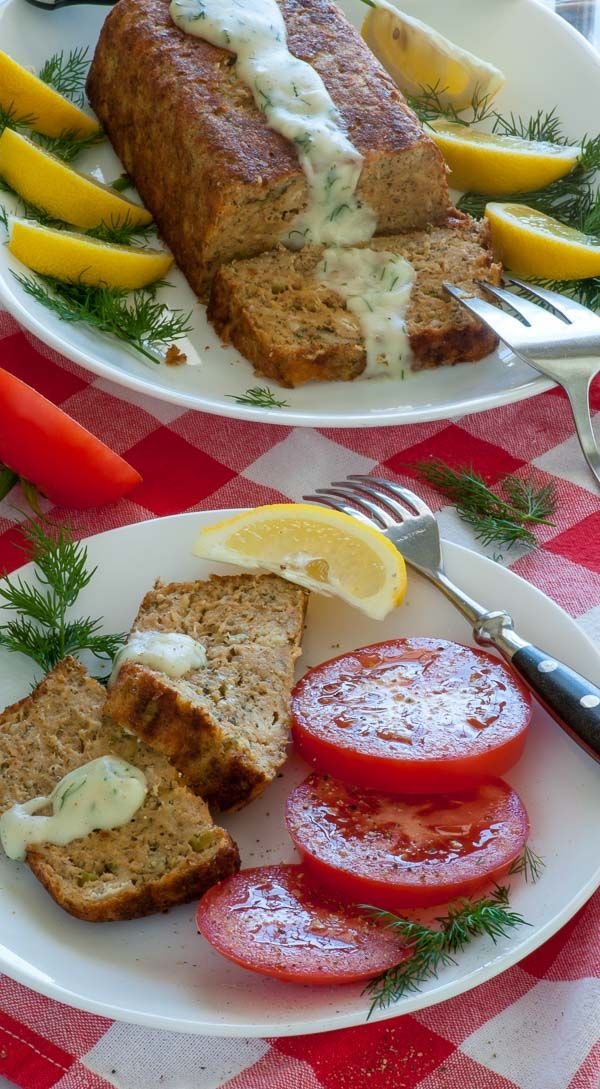 Perfect salmon loaf. Delicious healthy salmon loaf recipe full of vitamins and protein. It's a very economical dish to make. | joeshealthymeals.com