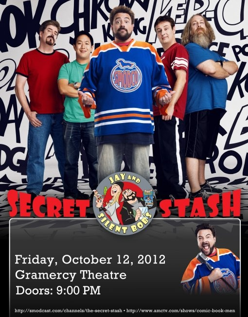 Win Tickets to see Kevin Smith and The Comic Book Men live at the Gramercy Theatre on Oct 12.