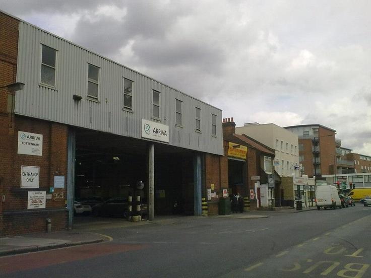 Tottenham Bus Garage