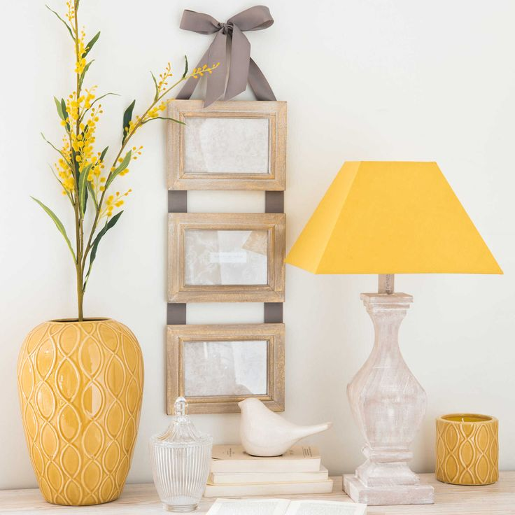 Caroline 2 Patterned Boxes Yellow Home Accessoriesyellow