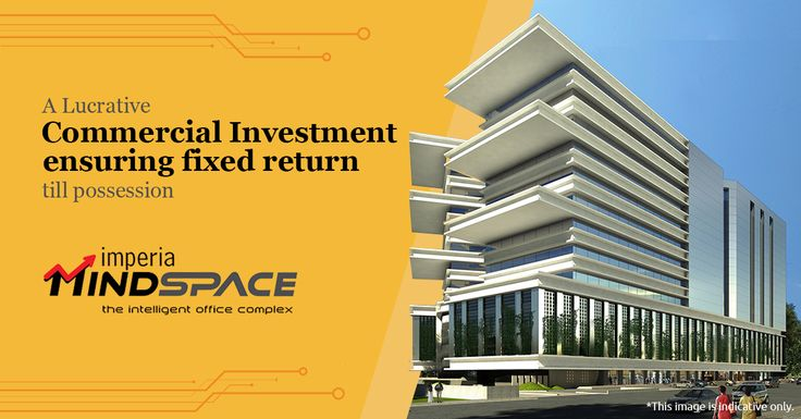 A Lucrative ‪#‎commercial‬ ‪#‎investment‬ ensuring fixed return till ‪#‎possession‬ ‪#‎ImperiaMindSpace‬ ‪#‎ImperiaStructures‬