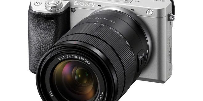 Sony Launches E 18 135mm F3 5 5 6 Lens And A6300 In Silver Color Mirrorless Camera Point And Shoot Camera Simple Camera