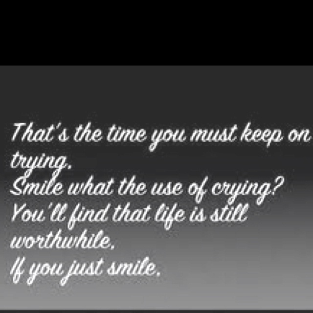 Pin By Lauren Winterfield On Words To Live By Glee Quotes Lyrics To Live By Just Smile