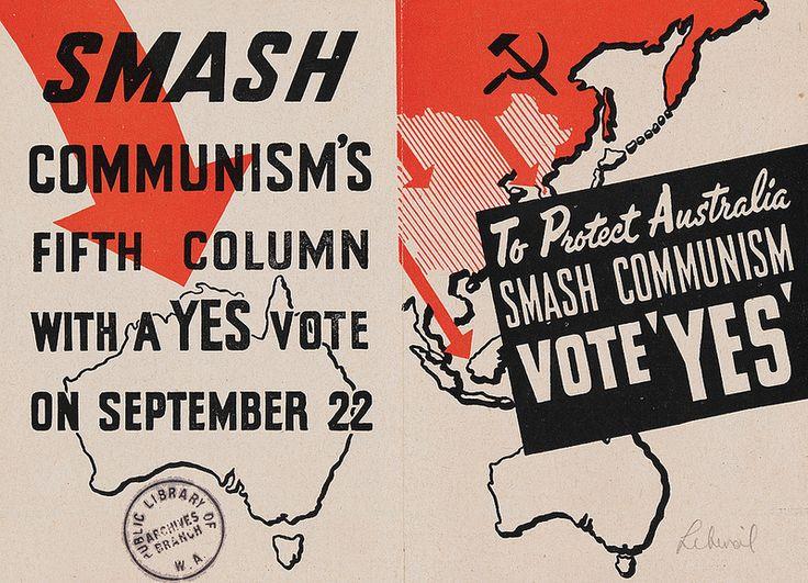 Smash Communism 1951 https://encore.slwa.wa.gov.au/iii/encore/record/C__Rb1837522