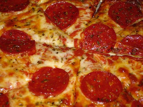 "sliced sausage on pizza | Pizza Hut Reconsiders ""Sausage or Pepperoni"" Dare At Tonight's ..."