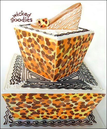17 Best ideas about Leopard Print Cakes on Pinterest ...