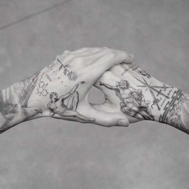 60 Herren-Tattoos, für die Sie aufstehen und klatschen werden - Seite 2 von 6 - Straight B ...