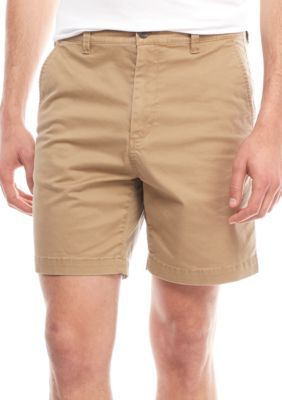 Crown & Ivy™ Men's Stretch 7-In Twill Shorts - Porch Khaki - 36