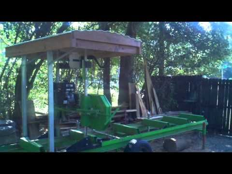 harbor freight sawmill. harbor freight sawmill up graded - youtube o
