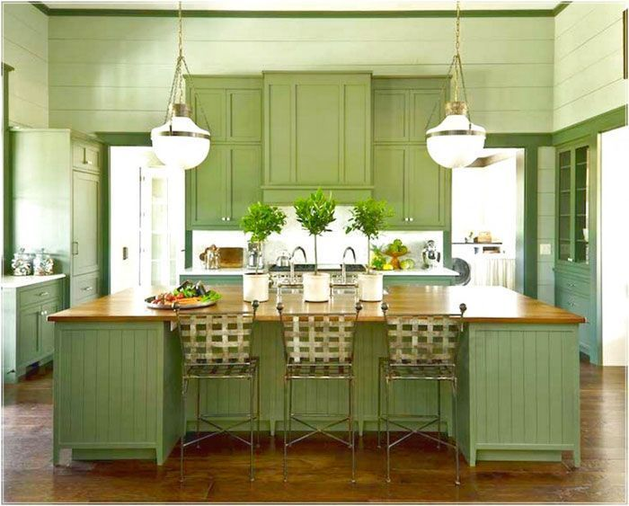Amazing Black Kitchen Cabinets On Trend For 2018 Black Kitchen Cabinets Painted Modern Ideas D Kitchen Cabinet Design Green Kitchen Green Kitchen Cabinets