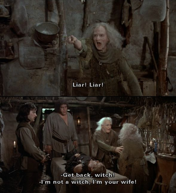 """But after what you just said, I'm not even sure I want to be THAT anymore!"" (The Princess Bride)"