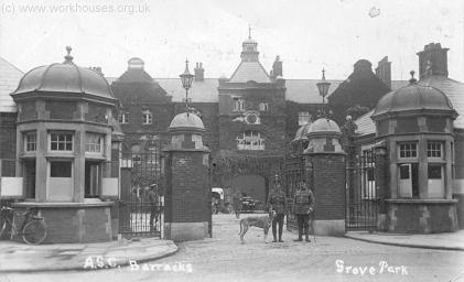 Greenwich workhouse.