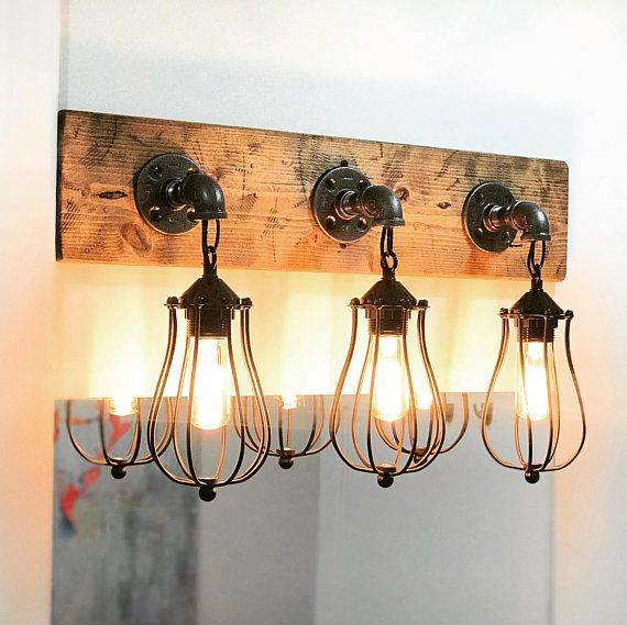 The Handmade Vintage Cage Light Is A One Of Kind Fixture That Will Take You Back To Simple Ordinary Things Neat Combinat