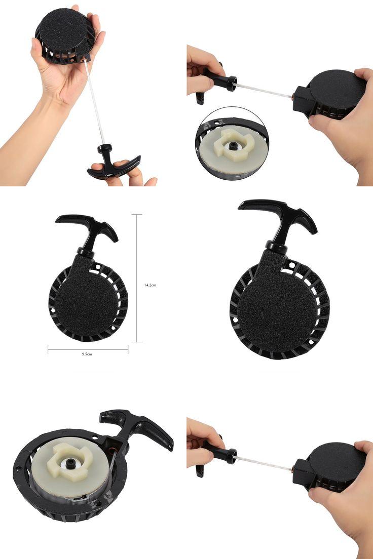[Visit to Buy] Easy Pull Start Starter Part For 49CC Mini Pocket Dirt Bike Minimoto ATV Quad Aluminum Moto #Advertisement