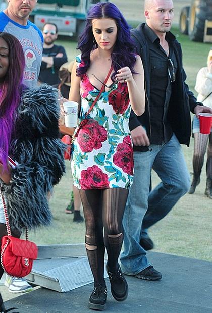 Fav style: Katy Perry @Coachella