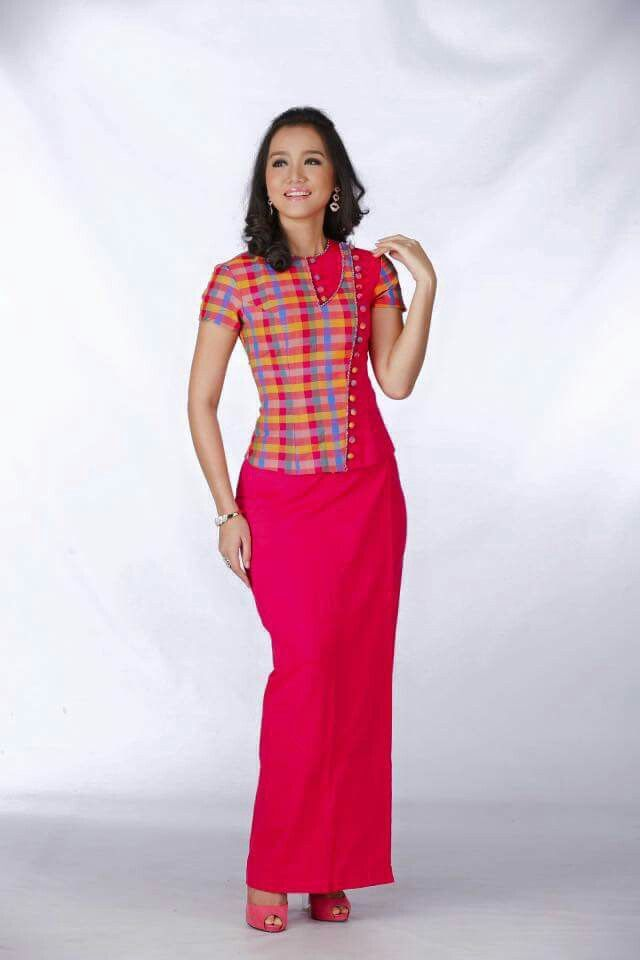 Myanmar Dress