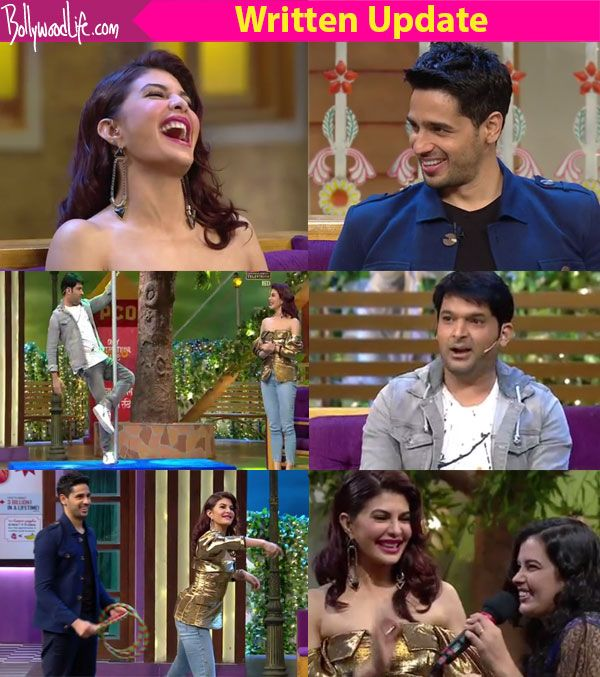 The Kapil Sharma Show: Jacqueline Fernandez is tested for her Hindi while Sidharth Malhotra raps along and Archana Puran Singh… #FansnStars