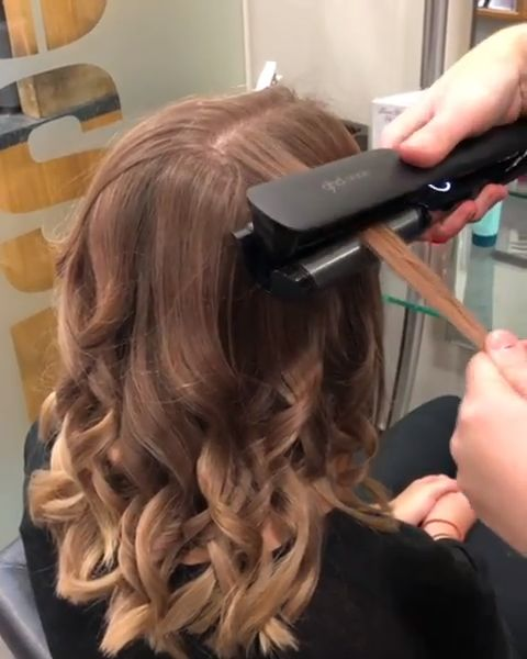 #ghdoracle in action (@rushbasildon via Instagram) #hairgoals #hairhowto #hairinspo