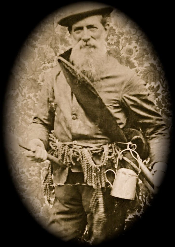 gold prospector in Australia! circa 1890's