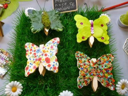 magnet pince papillon