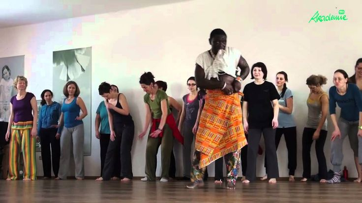 Afrikanischer Tanzkurs mit Aliou Dieme