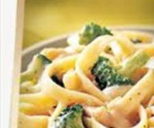Yummy Chicken & Broccoli Fettuccine