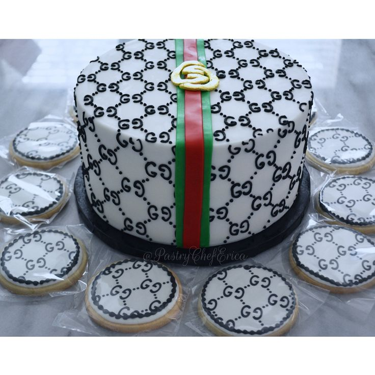 Cake inspired by my favorite designer Gucci, gucci, gucci cake, gucci cookies, sugar cookies, decorated cookies