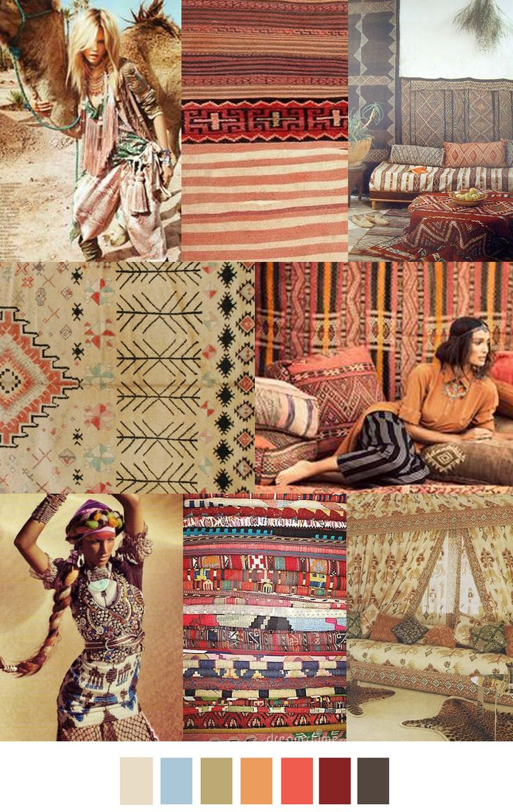 THE SAHARA trend in fashion.