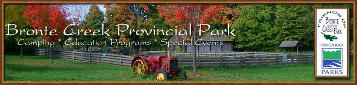 Bronte Creek Provincial Park  learn about farm animals at the Kids farm barn  pool hiking trails