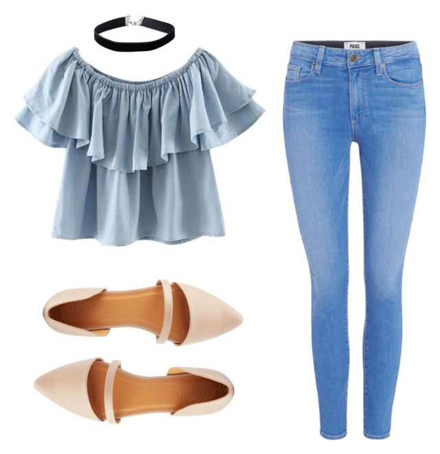 """""""1"""" by stolemycarrot on Polyvore featuring Chicnova Fashion, Paige Denim, Charlotte Russe, Miss Selfridge and Summer"""