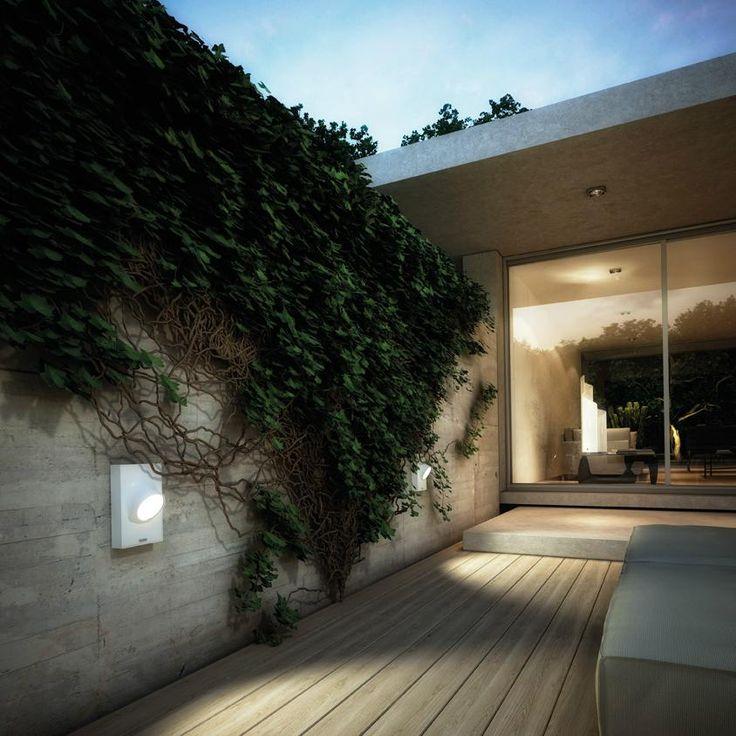 17 meilleures id es propos de ext rieur applique murale - Eclairage mur exterieur ...