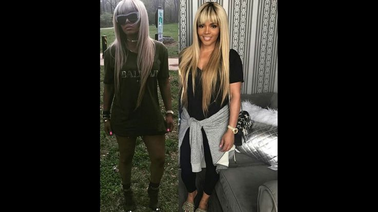 #Rasheeda Frost is a HOT blonde! New fly #hairhat for Reality TV queen!  Hair on FLEEK! #LHHATL 6