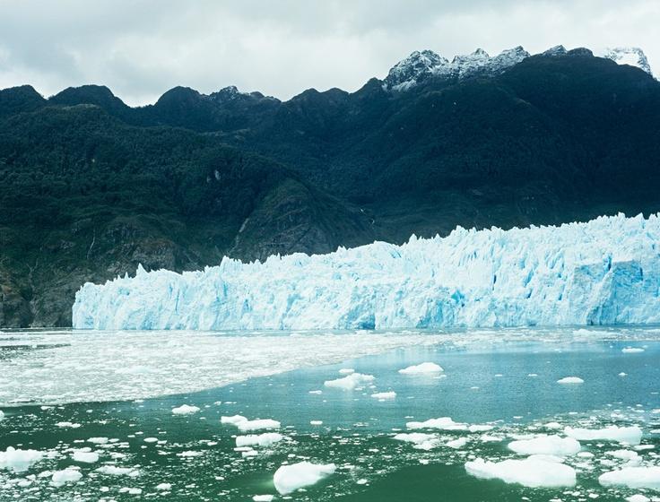 Laguna San Rafael en La Patagonia Chilena