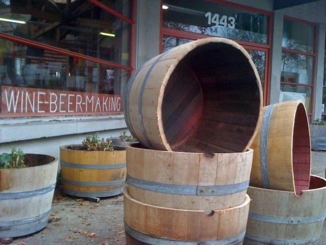 How to Prepare a Half Wine Barrel Planter