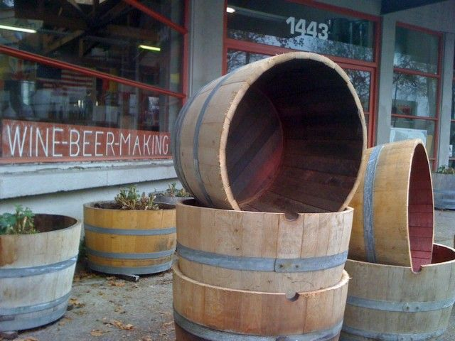 How to prep wine barrels to use for container plants