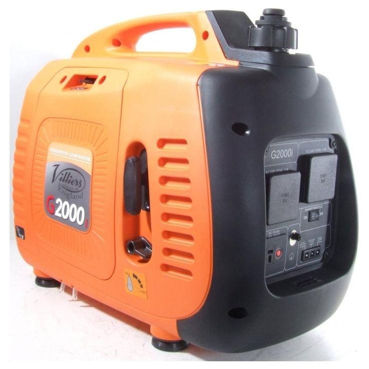 Villiers G2000i Inverter Petrol Generator - Invertor Generators from pump.co.uk - W.Robinson & Sons (Ec) Ltd UK