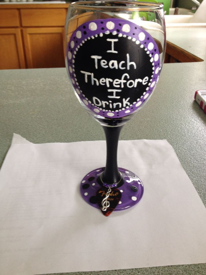48 best my diys images on pinterest bricolage diys and for Do it yourself wine glasses