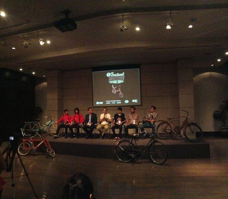 """tigrebici: """" El Festival Monterrey Vintage Bikes 2015, será un paseo por la historia de la bicicleta y revivirá la sensación de libertad que da el viento sobre la piel y con ella un mundo de recuerdos..."""