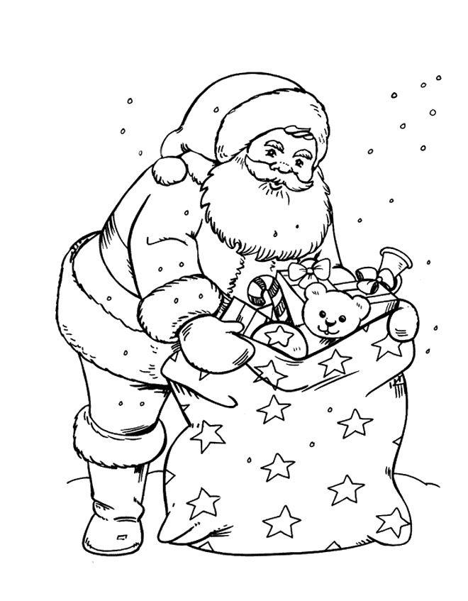 Apostila De Atividades Natalinas Papai Noel Para Colorir