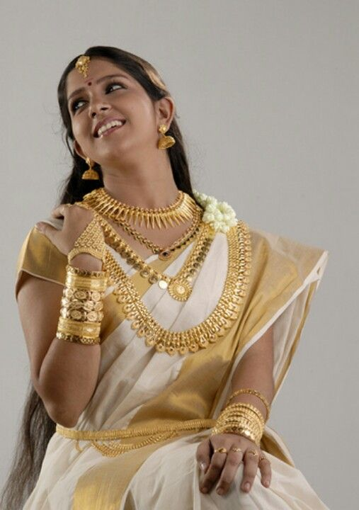 traditional Malayalee bride