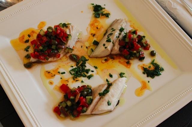Summer recipe by Grégory #recette #recipe #salad #fish