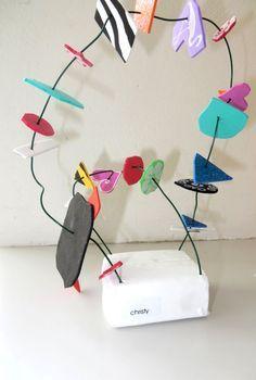 Kunstwerk, thema kunst voor kleuters, kleuteridee.nl , Art theme preschool 4