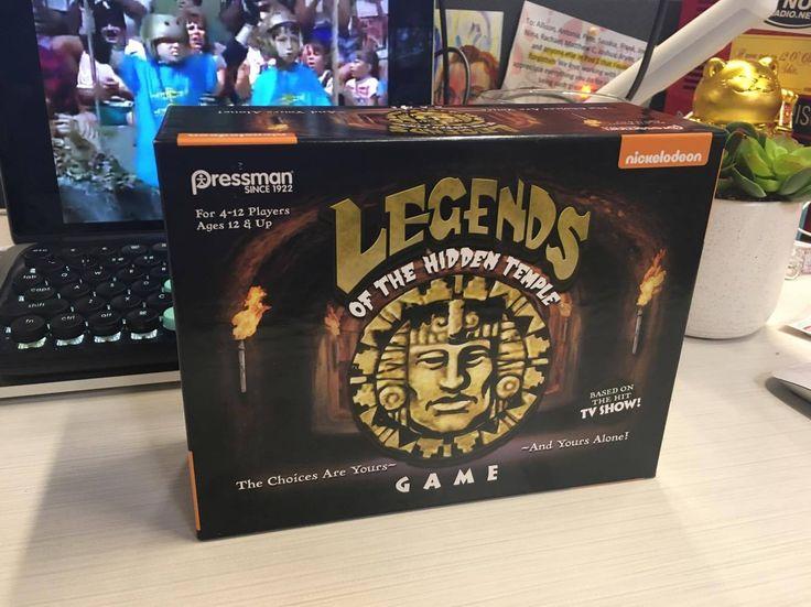 "Pressman ""Legends of the Hidden Temple"" game"