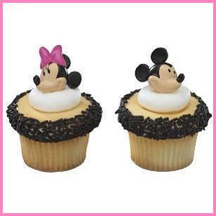 Mickey and Minnie Cupcake Rings, $.29 Cdn each.
