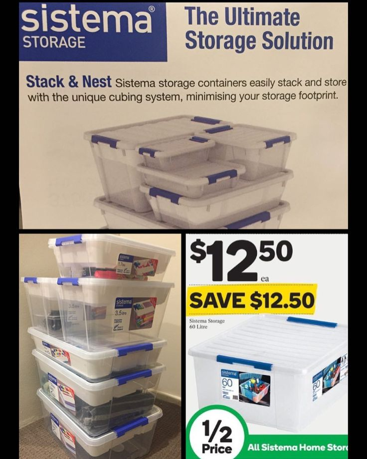 I absolutely love the #Sistema range of home storage containers. They stack up so nicely have removable clip on lids and are see through. Even better when they're #halfprice ! #onsale at #woolies until 24.1.17 They're perfect to use everywhere and anywhere. I've been replacing my old 'shoe box storage system' with these.  Thx for letting me know that they're on sale again @teachertrail
