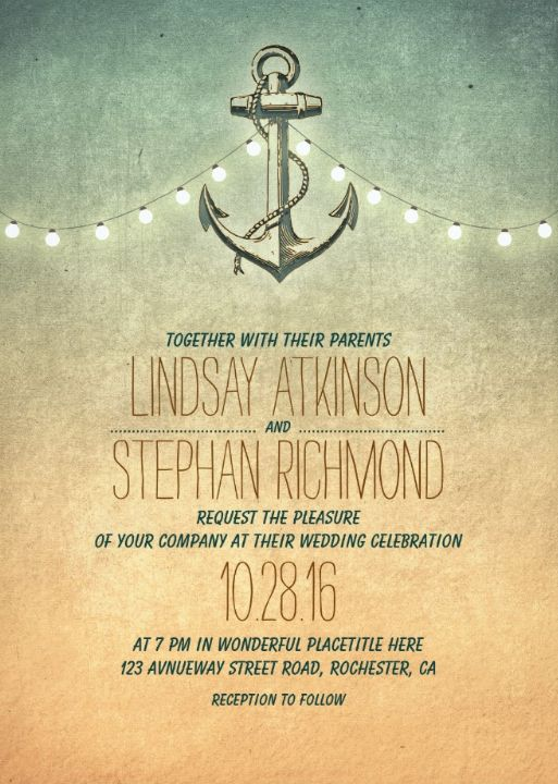 Blue Crab String Lights : 25+ best ideas about Nautical wedding invitations on Pinterest Nautical invitations, Nautical ...