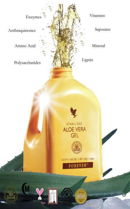 Imagine slicing open an Aloe leaf and consuming the gel directly from the plant. Our Forever Aloe Vera Gel™ is as close to the real thing as you can get.