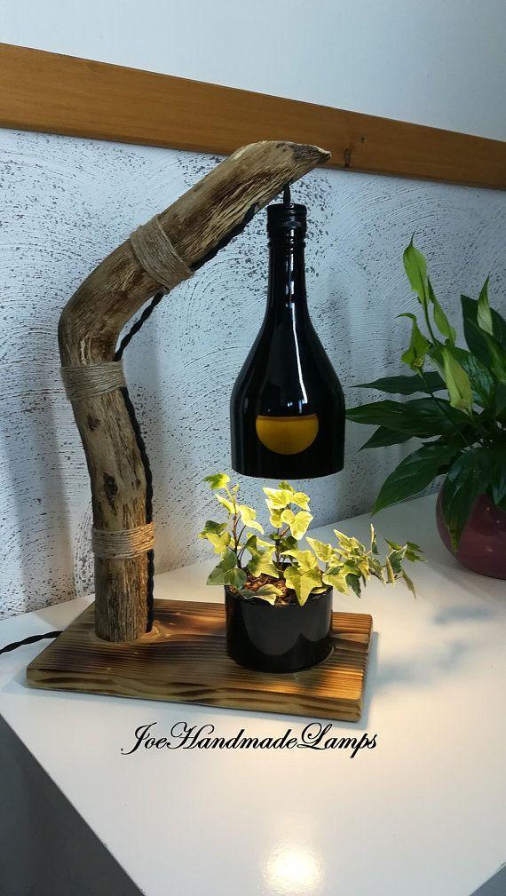 Industrielle handgemachte tisch haus lampe led birne glas schatten re …